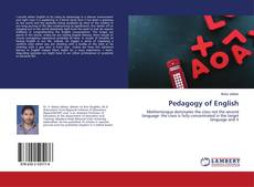 Bookcover of Pedagogy of English