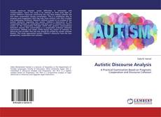Autistic Discourse Analysis kitap kapağı