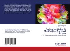 Environment-Friendly Modification And Local Dyeing kitap kapağı