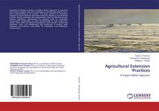 Bookcover of Agricultural Extension Practices