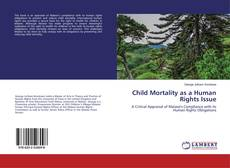 Capa do livro de Child Mortality as a Human Rights Issue