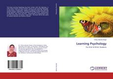 Bookcover of Learning Psychology