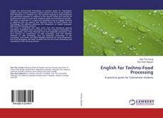 Copertina di English for Techno-Food Processing