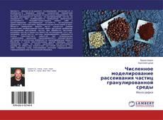 Buchcover von Численное моделирование рассеивания частиц гранулированной среды