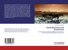 Buchcover von Social Business and Investment