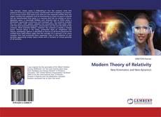 Capa do livro de Modern Theory of Relativity
