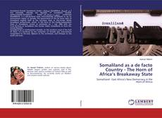 Bookcover of Somaliland as a de facto Country - The Horn of Africa's Breakaway State