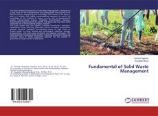 Fundamental of Solid Waste Management kitap kapağı