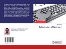Copertina di Optimization of Warranty
