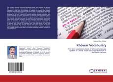 Bookcover of Khowar Vocabulary