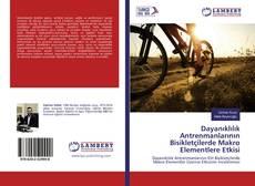 Portada del libro de Dayanıklılık Antrenmanlarının Bisikletçilerde Makro Elementlere Etkisi