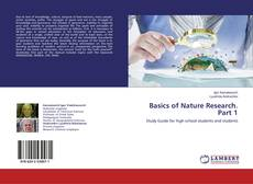 Bookcover of Basics of Nature Research. Part 1