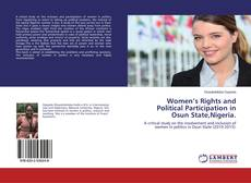 Bookcover of Women's Rights and Political Participation in Osun State,Nigeria.