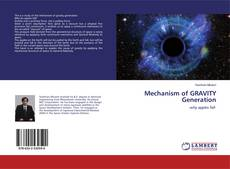 Portada del libro de Mechanism of GRAVITY Generation