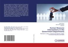Human Resource Interventions in the Government Departments kitap kapağı