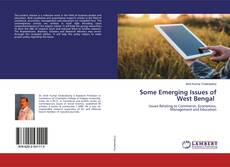 Some Emerging Issues of West Bengal kitap kapağı
