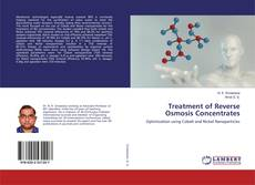 Capa do livro de Treatment of Reverse Osmosis Concentrates