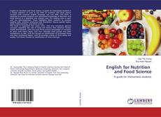 Copertina di English for Nutrition and Food Science