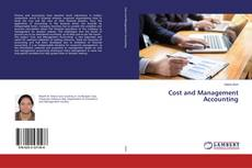 Cost and Management Accounting kitap kapağı