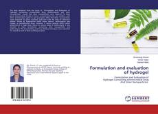Formulation and evaluation of hydrogel kitap kapağı
