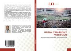 LIAISON D'ADHÉRENCE ACIER-BÉTON的封面