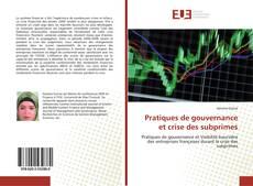 Buchcover von Pratiques de gouvernance et crise des subprimes