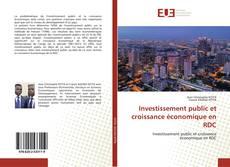 Couverture de Investissement public et croissance économique en RDC