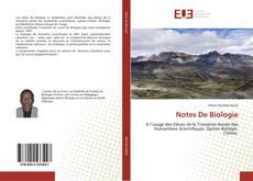 Обложка Notes De Biologie