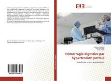 Hémorragie digestive par hypertension portale kitap kapağı