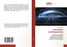 Couverture de METHODES D'OPTIMISATION
