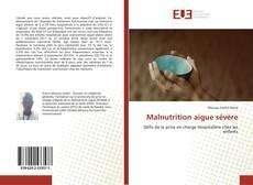 Buchcover von Malnutrition aigue sévère