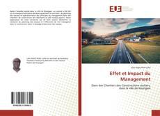 Portada del libro de Effet et Impact du Management