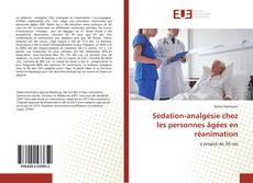 Bookcover of Sédation-analgésie chez les personnes âgées en réanimation