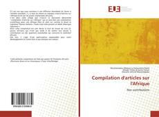 Compilation d'articles sur l'Afrique kitap kapağı