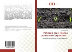 Bookcover of Polycopié cours relation plante micro organismes