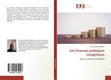 Portada del libro de Les finances publiques congolaises