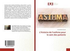 Обложка L'histoire de l'asthme pour le soin des patients