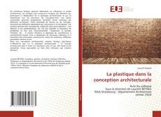 Buchcover von La plastique dans la conception architecturale