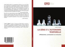 Capa do livro de LA DÎME ET L'AUTONOMIE TEMPORELLE