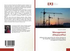 Buchcover von Management d'Aujourd'hui