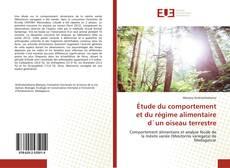 Bookcover of Étude du comportement et du régime alimentaire d`un oiseau terrestre