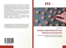 Bookcover of Gestion opérationnelle des Ressources Humaines