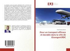 Pour un transport efficace et durable dans la ville de Kisangani/RDC的封面