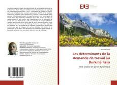 Capa do livro de Les déterminants de la demande de travail au Burkina Faso