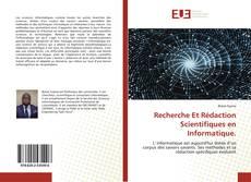 Capa do livro de Recherche Et Rédaction Scientifiques en Informatique.