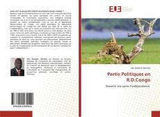 Capa do livro de Partis Politiques en R.D.Congo