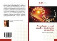 Copertina di Présentation et essai d'analyse des théories comptables