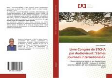 """Portada del libro de Livre Congrès de STCHA par Audiovisuel: """"2èmes Journées Internationales"""