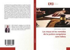 Buchcover von Les maux et les remèdes de la justice congolaise sans tabou