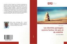 Capa do livro de Les identités partagées comme facteur de paix et de stabilité